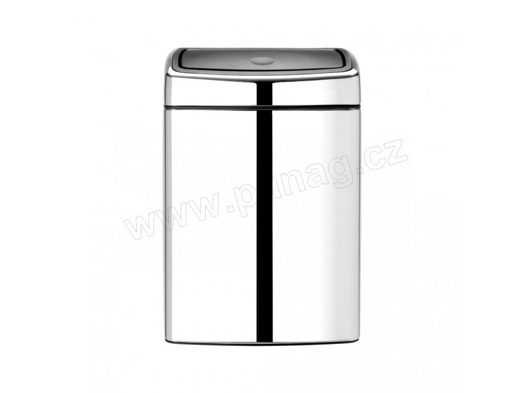 477201 Odpadkový koš Touch Bin® 10 l čtvercový lesklá ocel od Brabantia