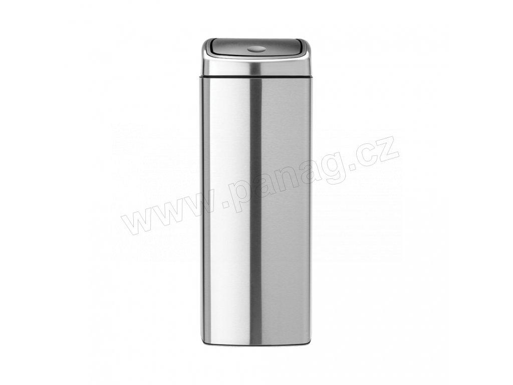 384929 Odpadkový koš Touch Bin® 25 l čtvercový matná ocel FPP od Brabantia