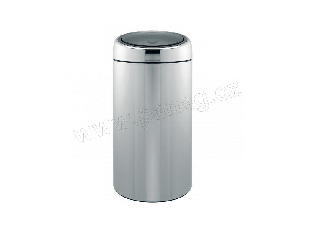 Twin Bin Koš na tříděný odpad- 20/20 L , Lesklá ocel