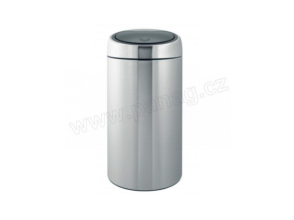 Twin Bin Koš na tříděný odpad- 20/20 L , Matná ocel FPP