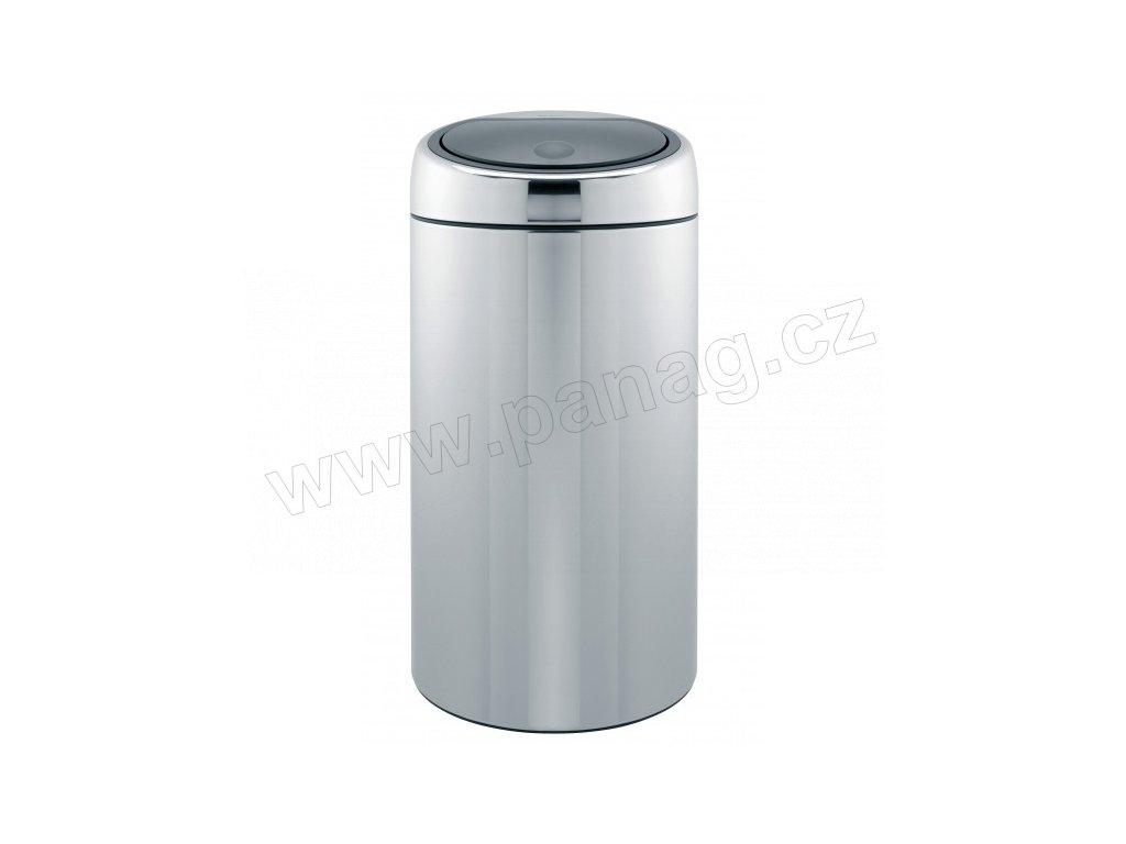 Touch Bin 45 Liter.Odpadkovy Kos 45 L Touch Bin De Luxe Leskla Ocel Panag Cz