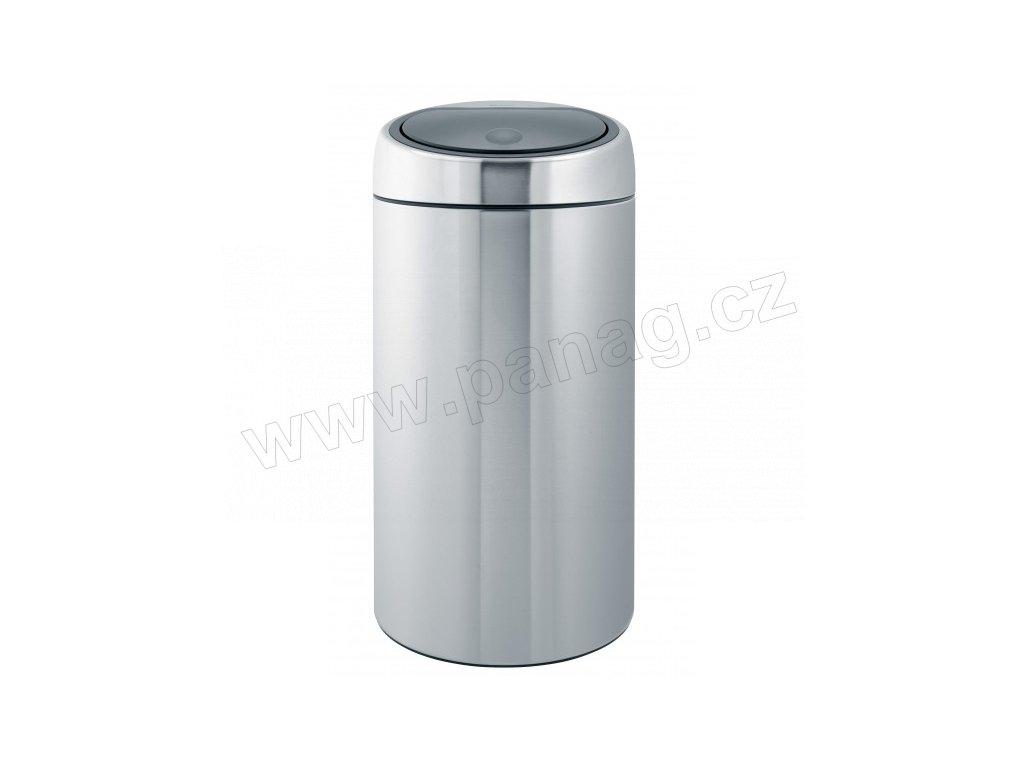 Koš Touch Bin - 45 L De Luxe , Matná ocel FPP