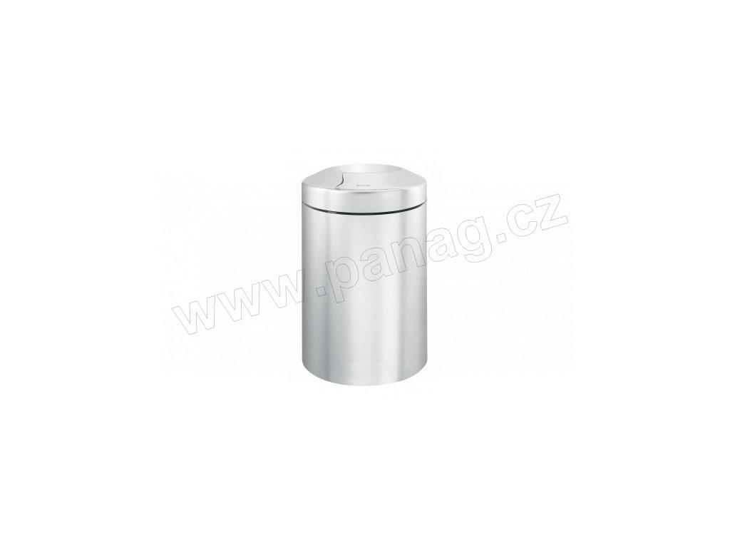Koš - 15 L, nehořlavý, Matná ocel