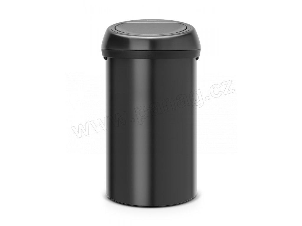 Koš Touch Bin - 60 L, Matná černá