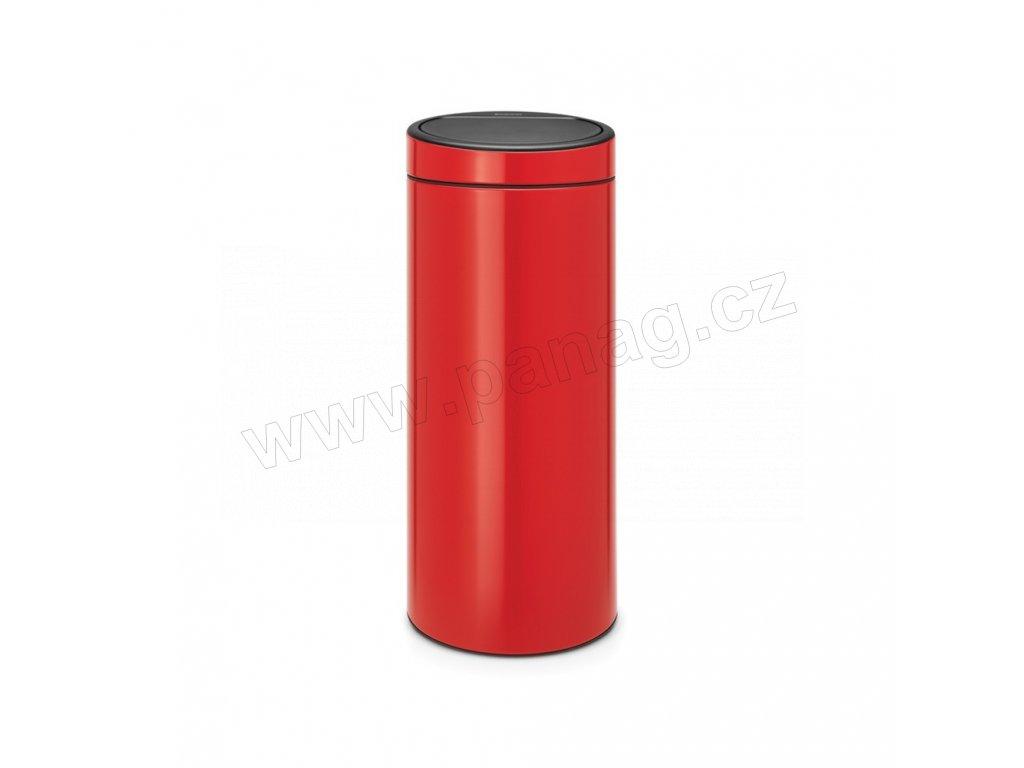 Koš Touch Bin New - 30 L , Zářivě červená