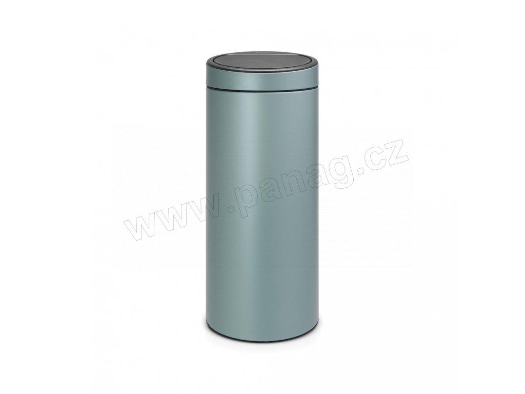 Koš Touch Bin New - 30 L , Metalická mátová
