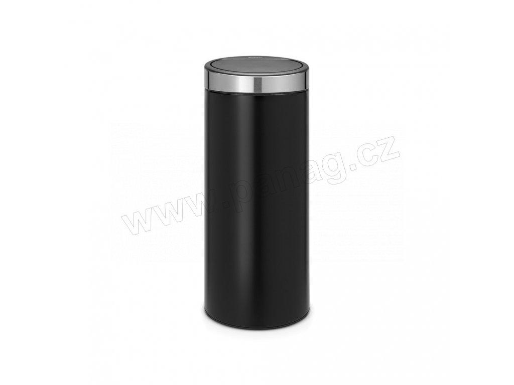 Koš Touch Bin New - 30 L , Matná černá / FPP víko