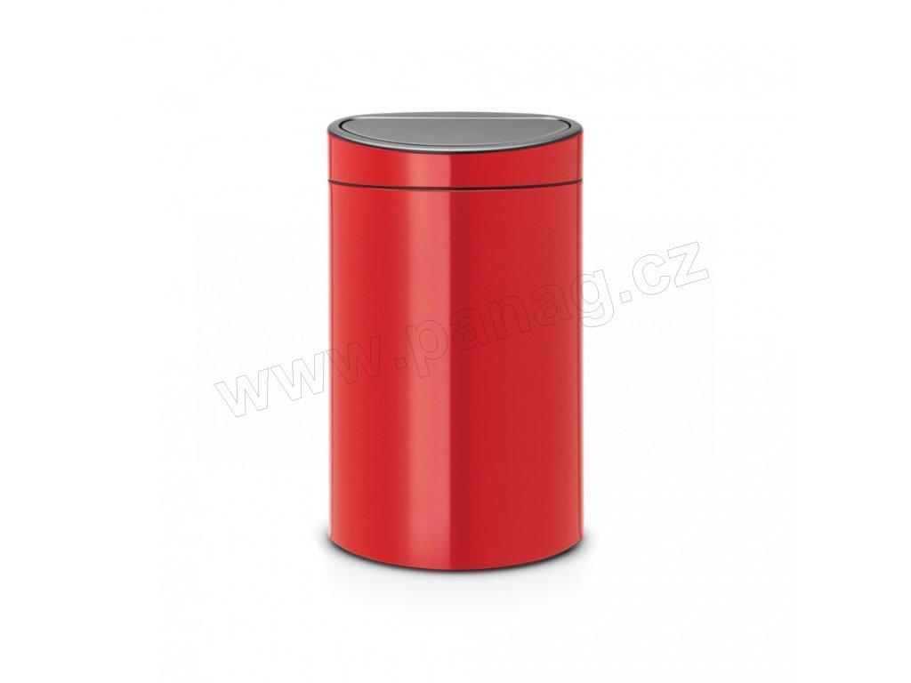 Koš Touch Bin  - 40 L , Zářivě červená