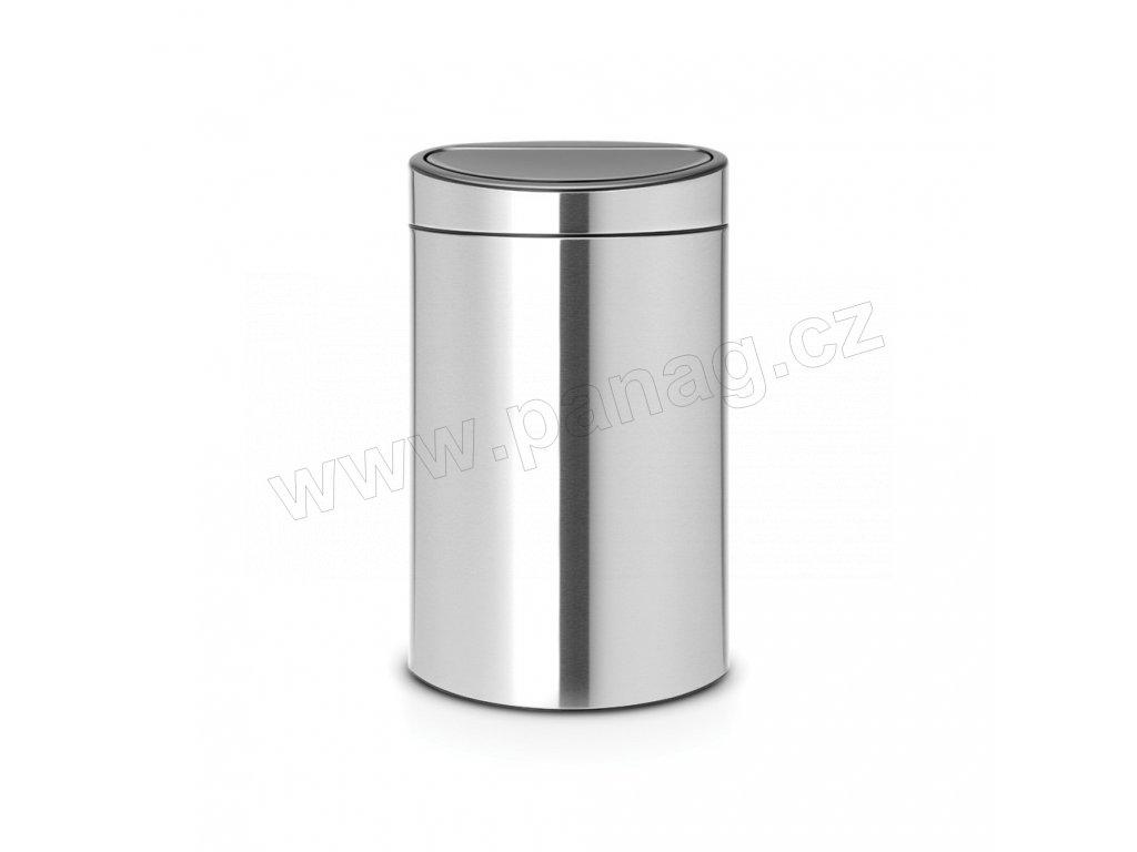 Touch Bin Recycle koš na tříděný odpad- 10+23 L , FPP Matná ocel