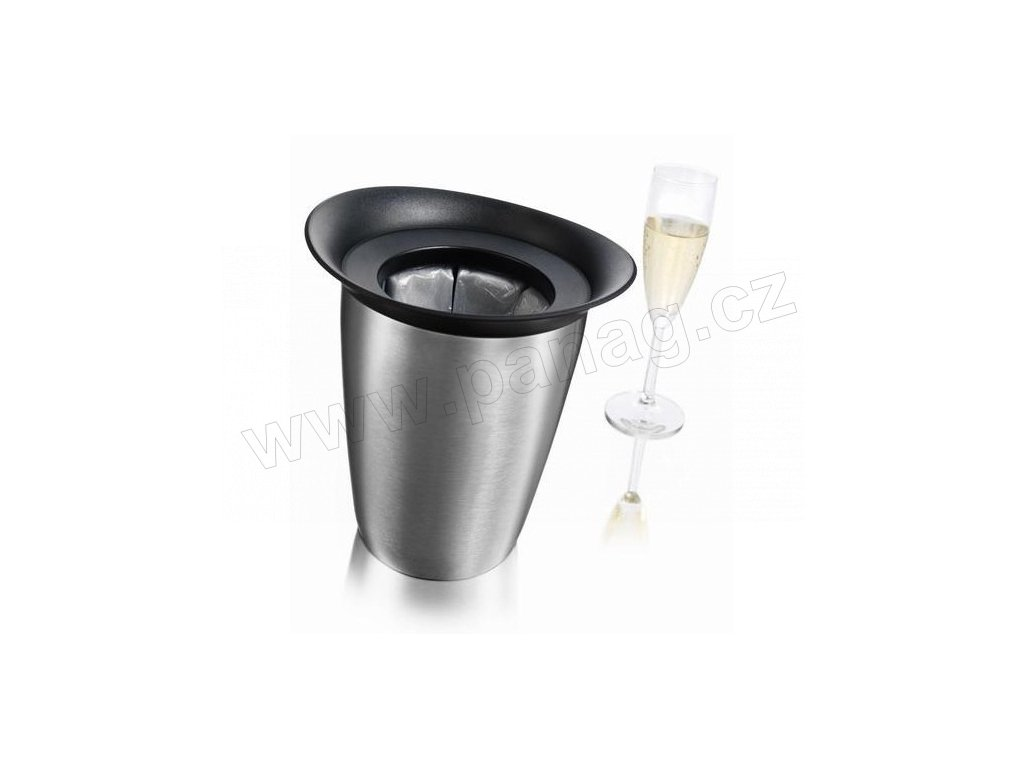 Chladič na šampaňské nerezový