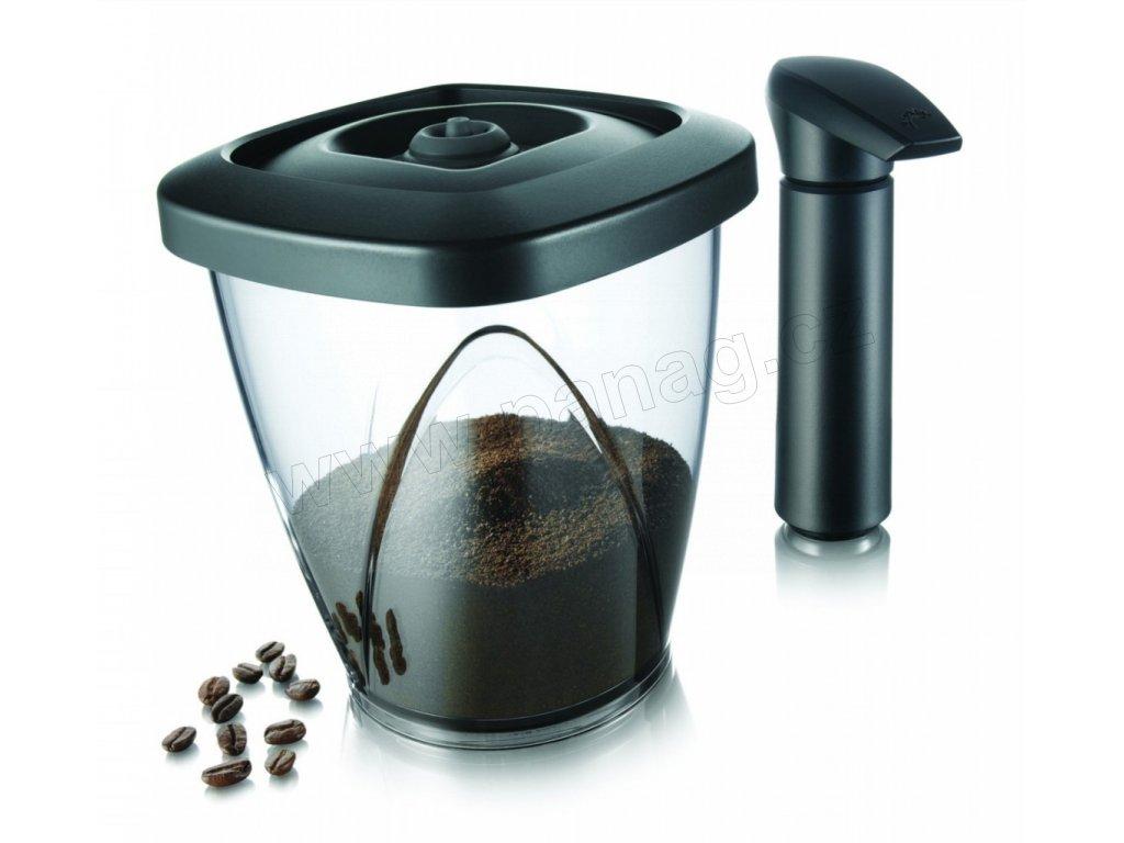 Vakuová dóza na kávu s pumpou
