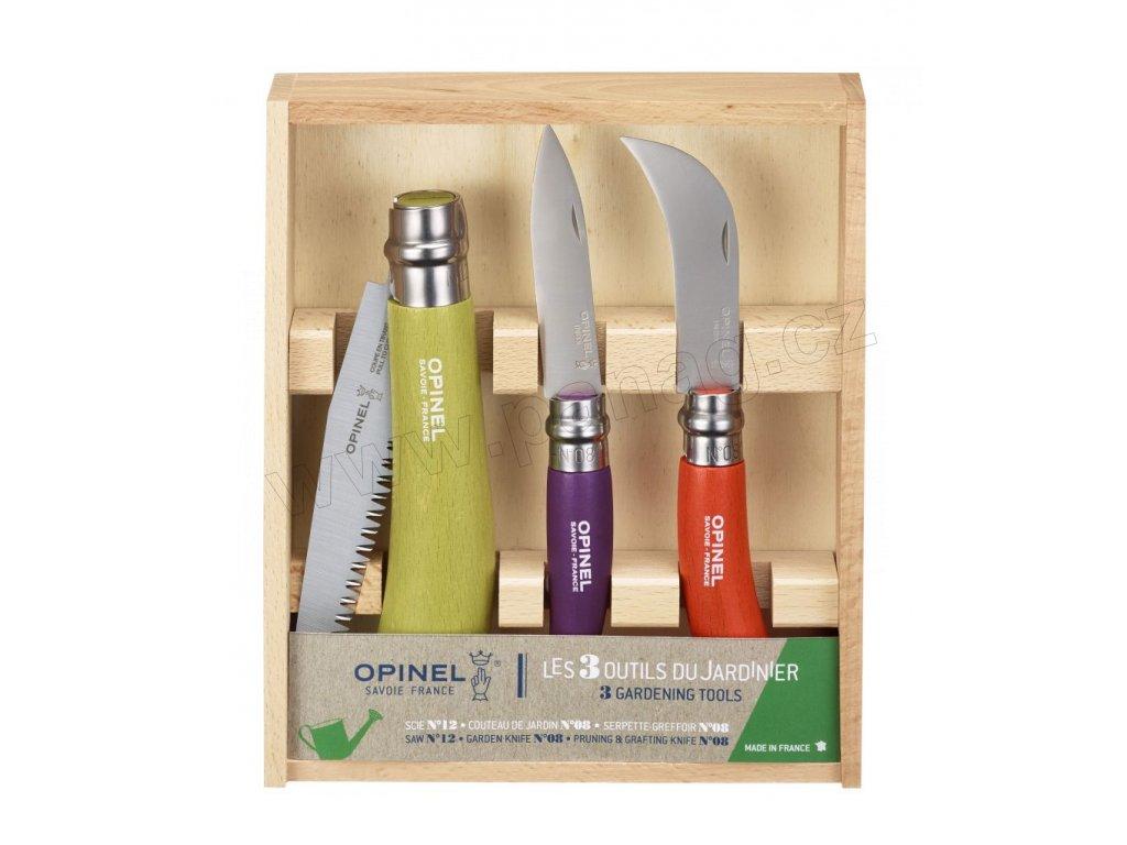 Zahradnický set zavíracích nožů od Opinel