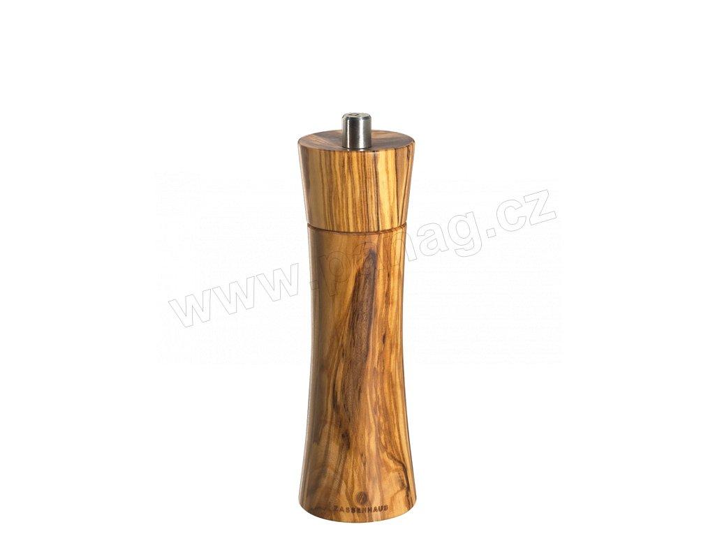 FRANKFURT - Mlýnek na pepř olivové dřevo 18 cm - Zassenhaus - 022223
