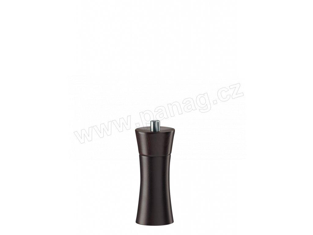 FRANKFURT - Mlýnek na sůl hnědý mořený buk 14 cm - Zassenhaus - 022254