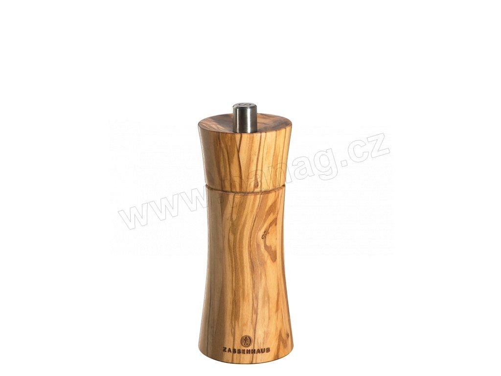 FRANKFURT - Mlýnek na pepř olivové dřevo 14 cm - Zassenhaus - 022407