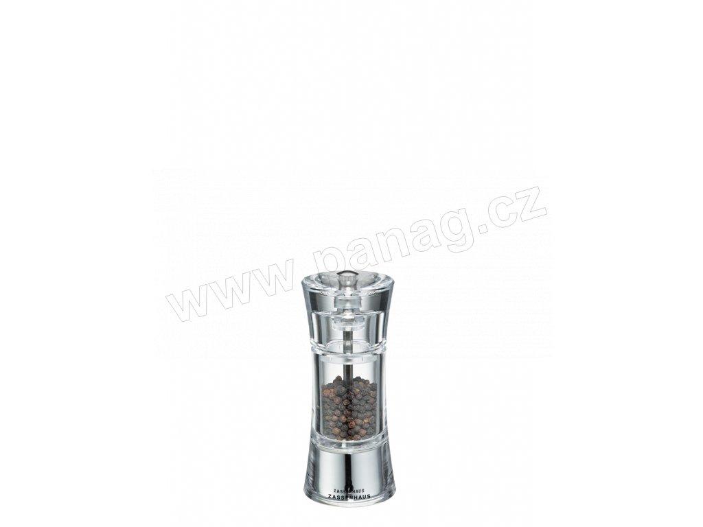 AACHEN - Mlýnek na pepř akryl 14 cm  - Zassenhaus - 035247