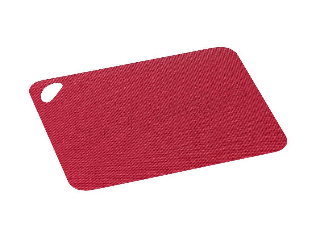 Krájecí podložka flexibel červená 38 x 29 cm - Zassenhaus - 061093