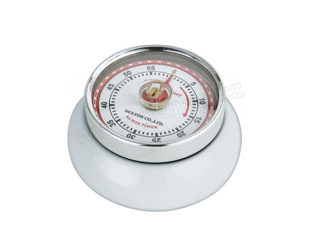 Kuchyňský časovač/minutník/minutka SPEED bílý - Zassenhaus - 072242