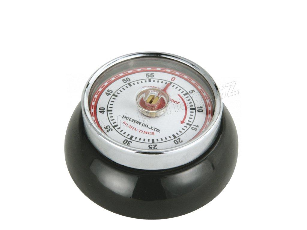 Kuchyňský časovač/minutník/minutka SPEED černý - Zassenhaus - 072310