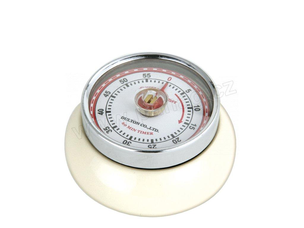 Kuchyňský časovač/minutník/minutka SPEED krémový - Zassenhaus - 072334