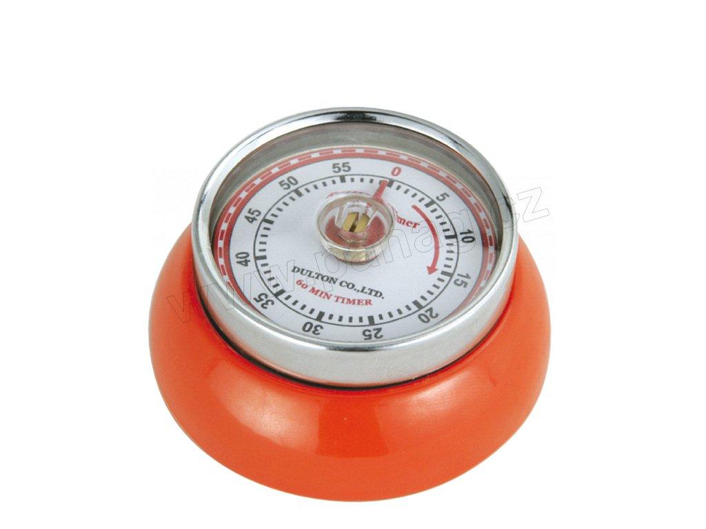 Kuchyňský časovač/minutník/minutka SPEED oranžový - Zassenhaus - 072389