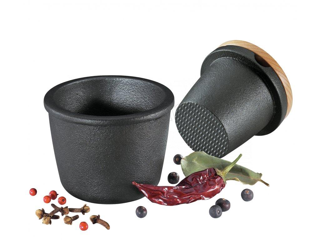 076080 Litinový drtič na bylinky i koření od Zassenhaus