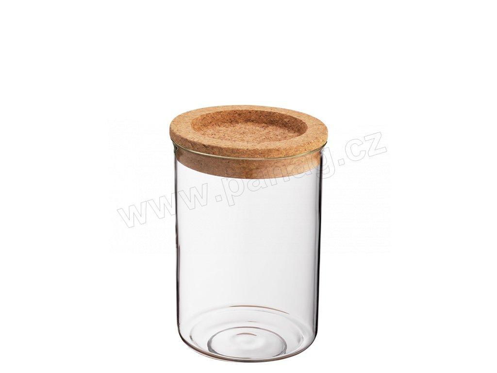 Dóza sklo/korek 850 ml - Zassenhaus - 067071