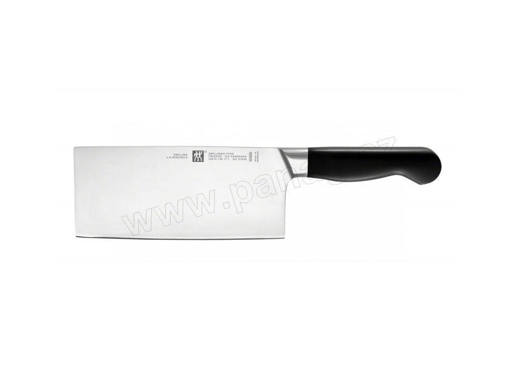 Čínský kuchařský nůž TWIN Pure 18 cm