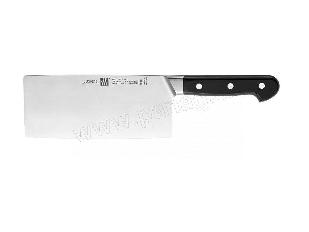 Čínský kuchařský nůž PRO, 18 cm - Zwilling J.A. Henckels - 38419-181