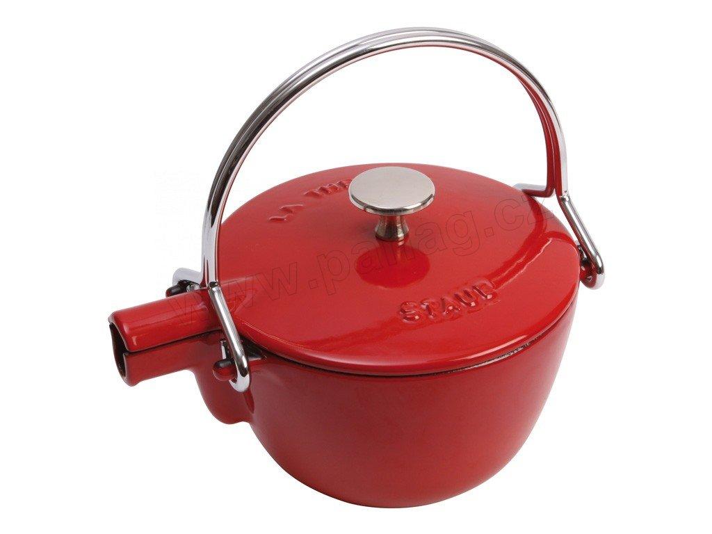 Konvice na vaření vody 1,15 l višňová