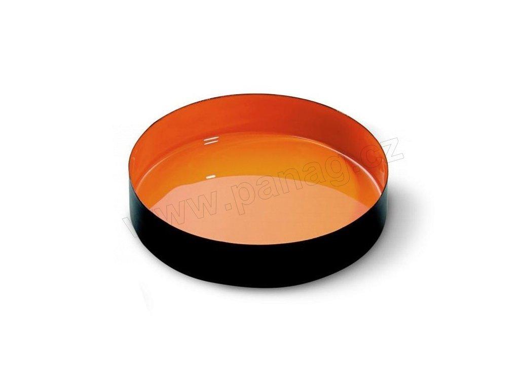 Miska barevná 20 cm, oranžová