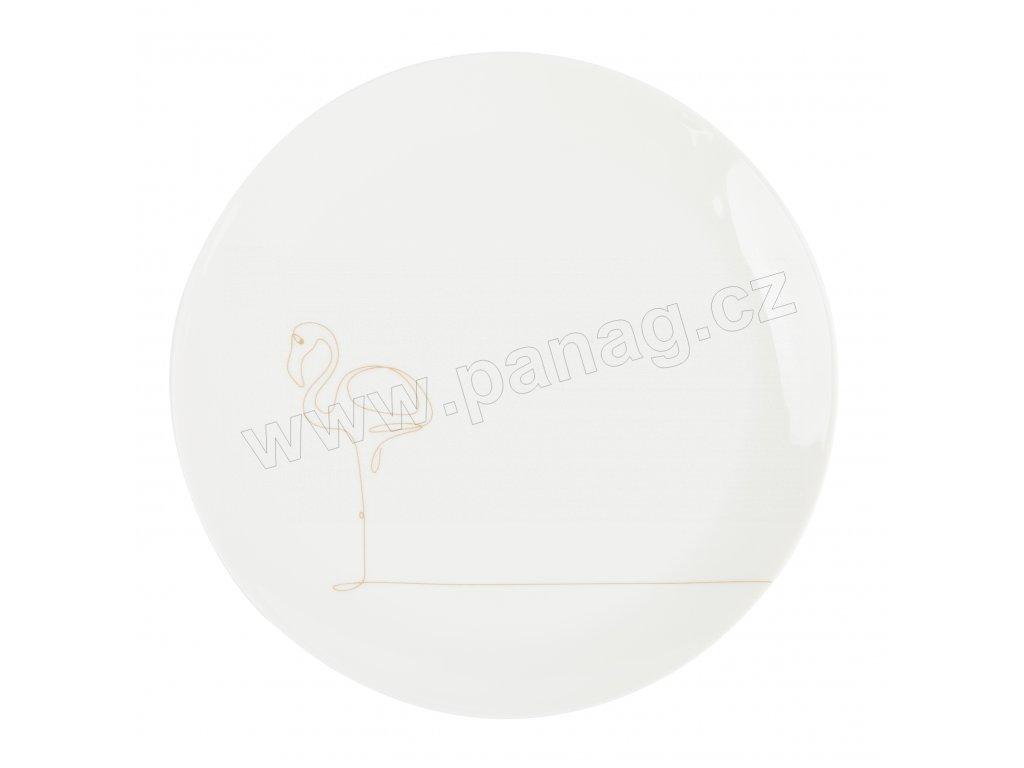 Dezertní talíř 21 cm - FLAMINGO - by inspire - 8132-00-31