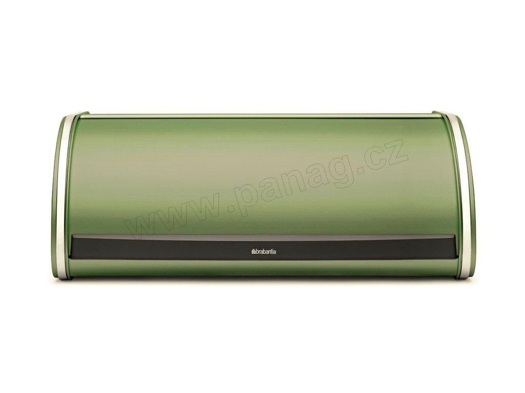 Chlebník 17,5x44,5x27 cm - Mechově zelená - Roll Top