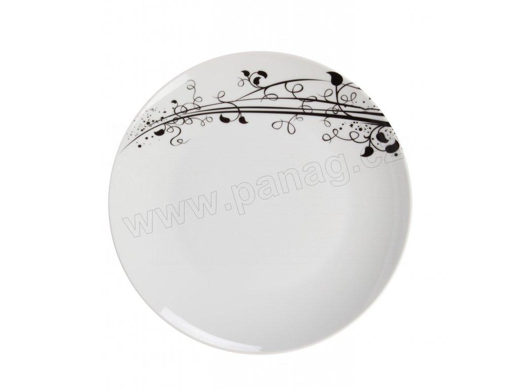 Mělký jídelní talíř 27 cm z kolekce porcelánu BAROKO od by inspire 7641-00-02