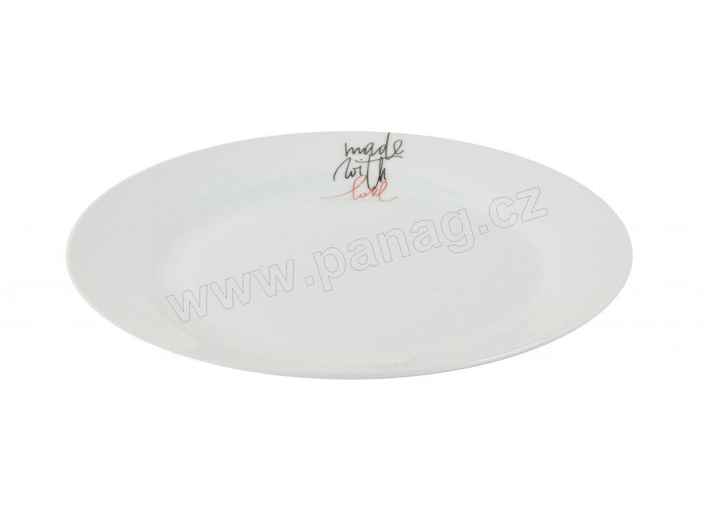 Mělký talíř 27 cm LOVE od by inspire 7631-00-45