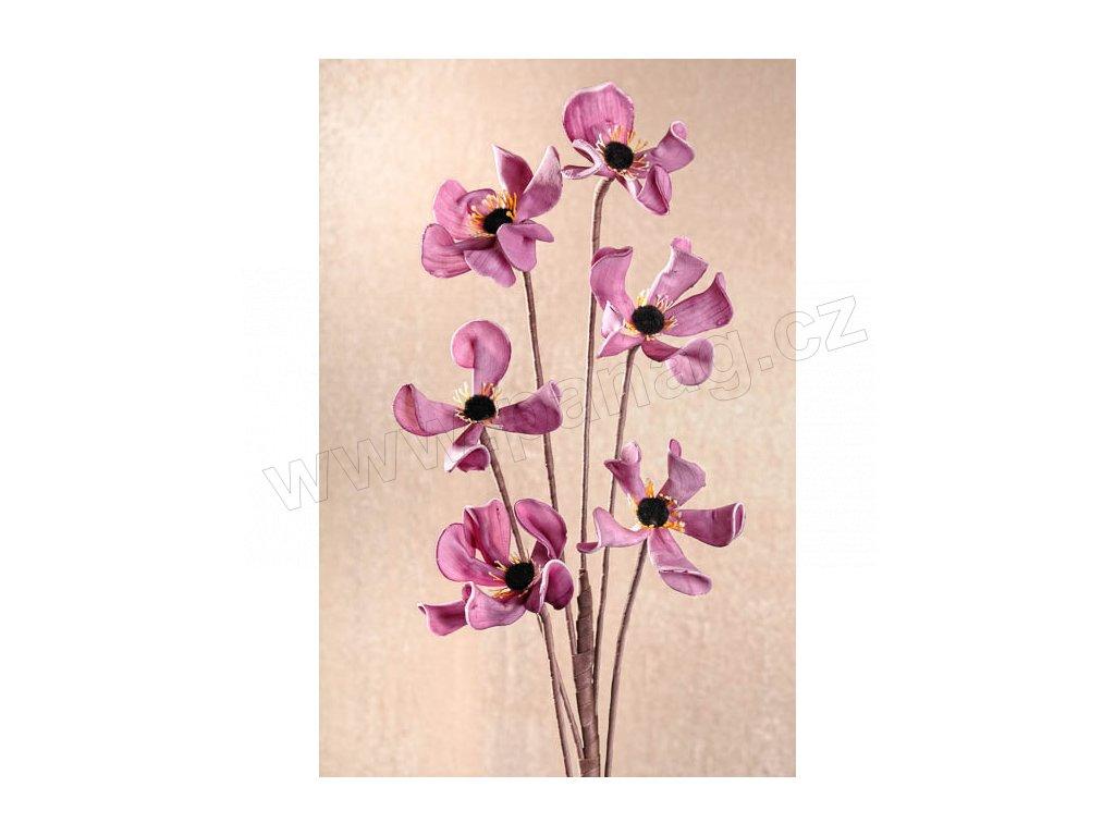 3 93L Aranžovací květina 113 cm fialová
