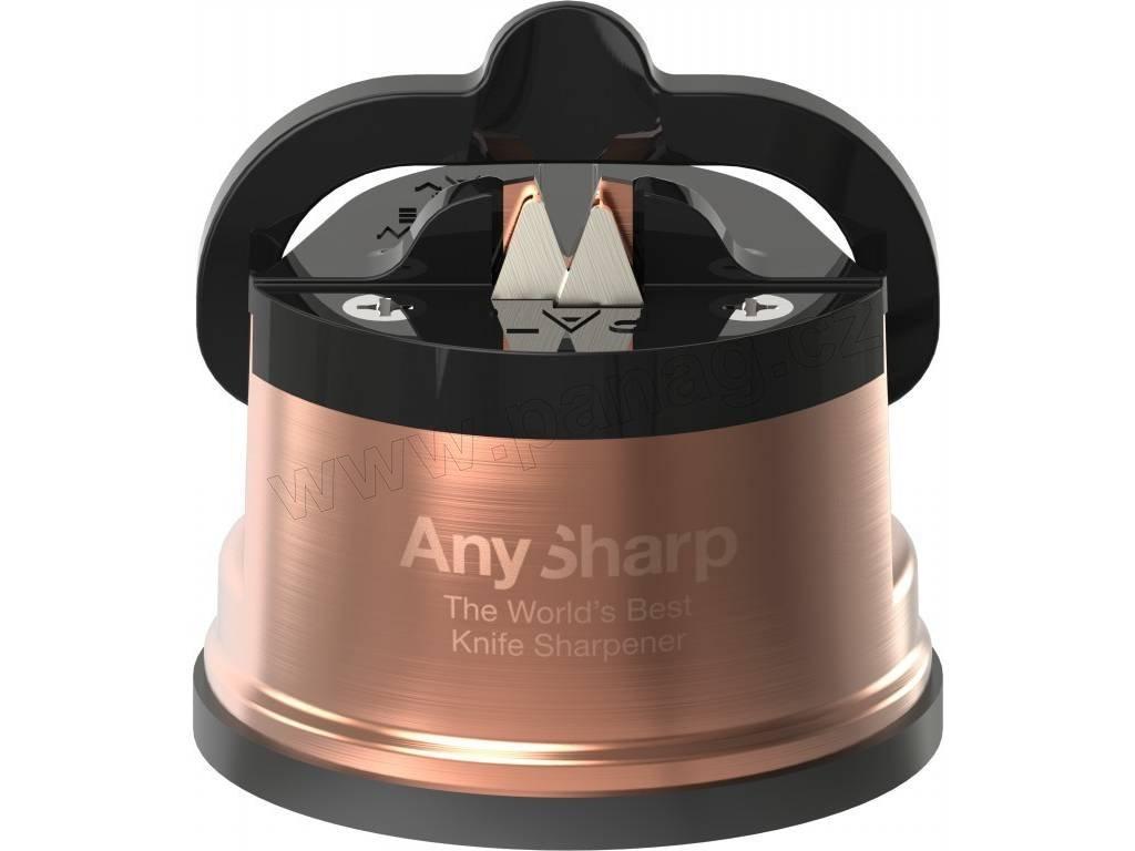 AnySharp Pro Chefs brousek - měděný - AnySharp - ASKSPROCOPPER