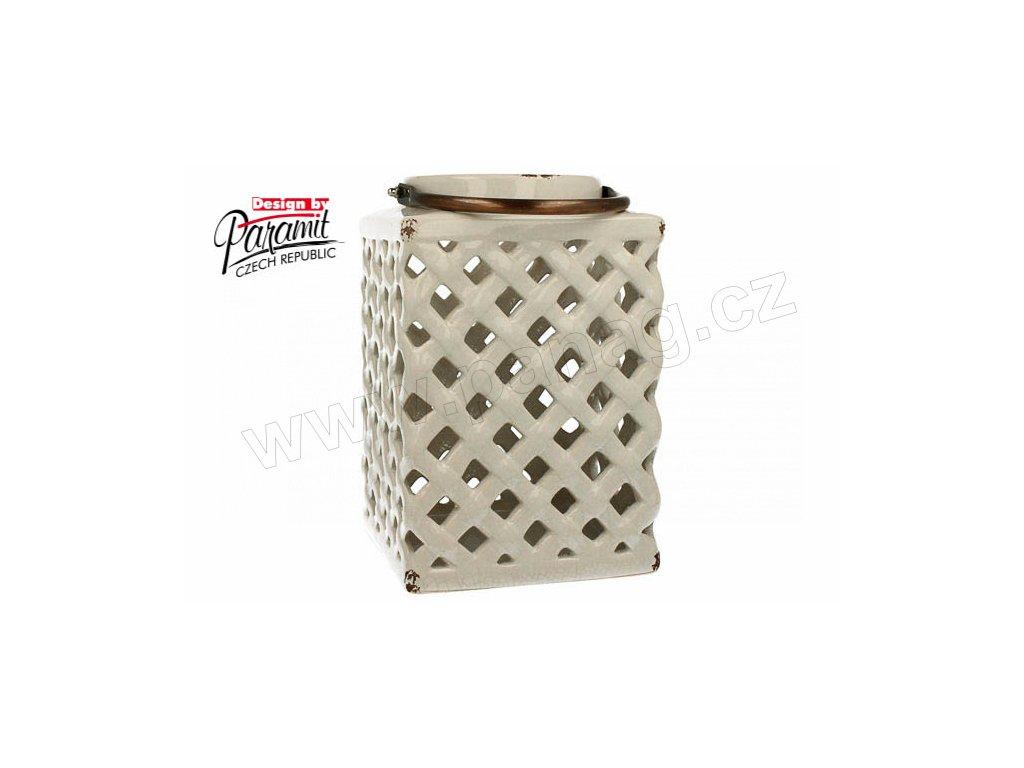 Paris lucerna bílá 26 cm - Paramit - 12046-26W