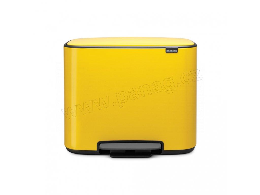 Bo pedálový koš 11+23 l - kopretinově žlutá - Brabantia - 121180