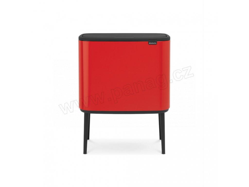 Bo Touch Bin 11+23 l - zářivě červená - Brabantia - 316104