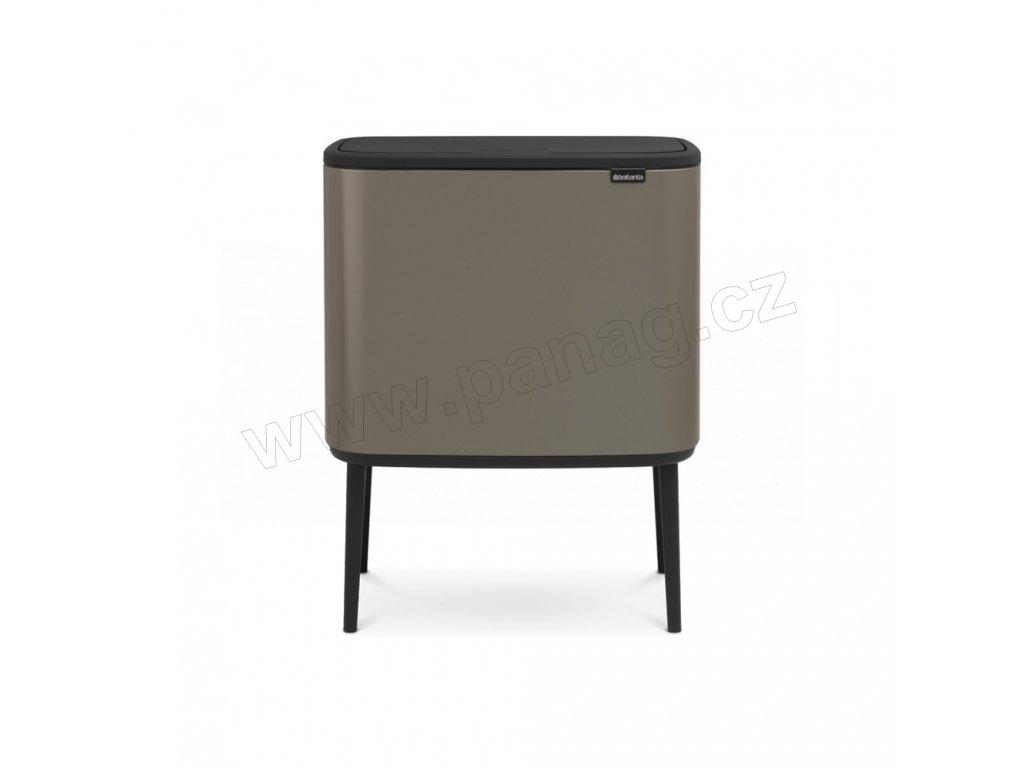 Bo Touch Bin 3x11 l - platinová - Brabantia - 316043