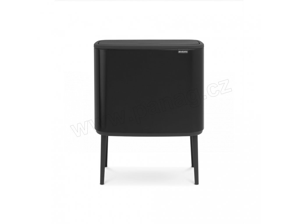 Bo Touch Bin 3x11 l - matná černá - Brabantia - 316067