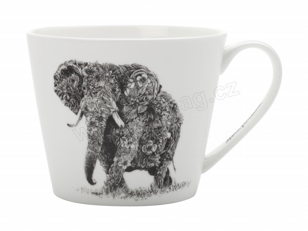 Hrnek na čaj Africký slon  - MARINI FERLAZZO od Maxwell and Williams DX0222