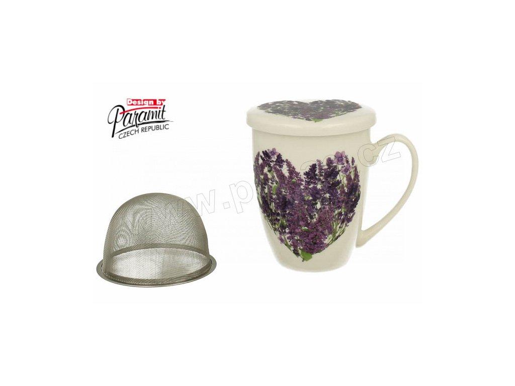 H76 Hrnek na čaj Levandule od Paramit