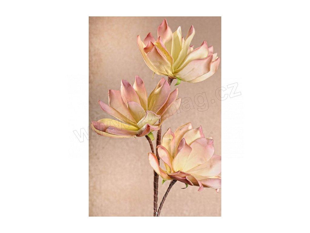 3 110P1 Umělá květina světle růžová 97 cm