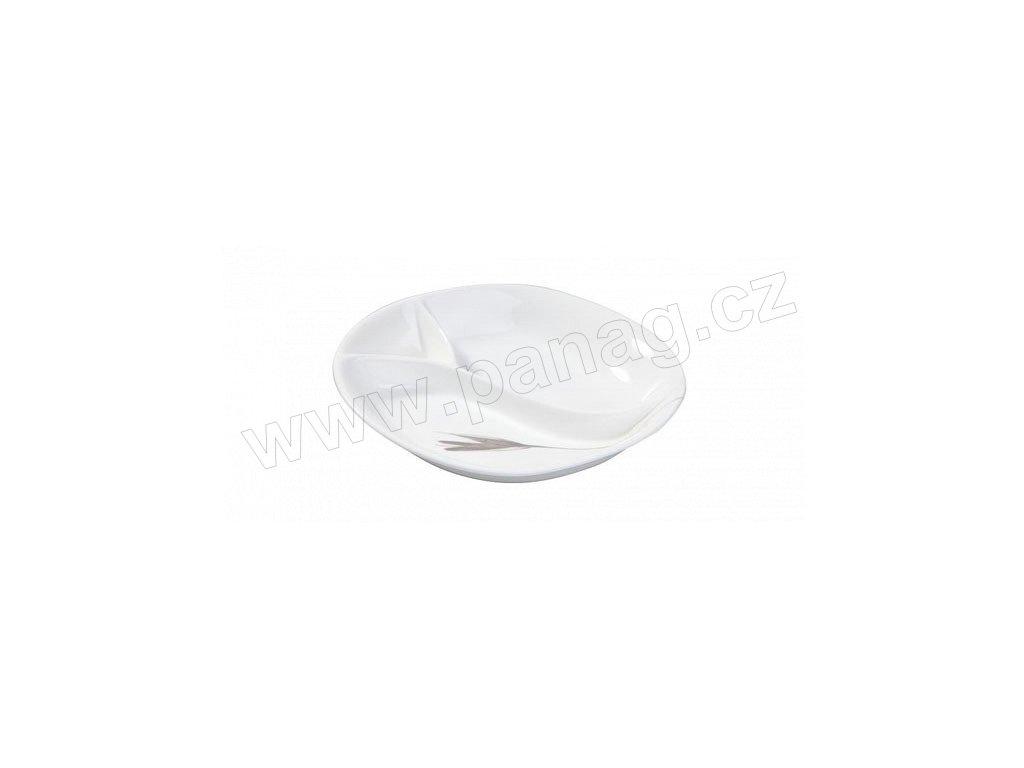 Porcelánová party miska 18 x15,7 x3,2 cm IRIS - by inspire