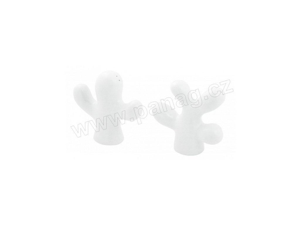 Solnička a pepřenka Cactus bílá - by inspire 6901-00-00