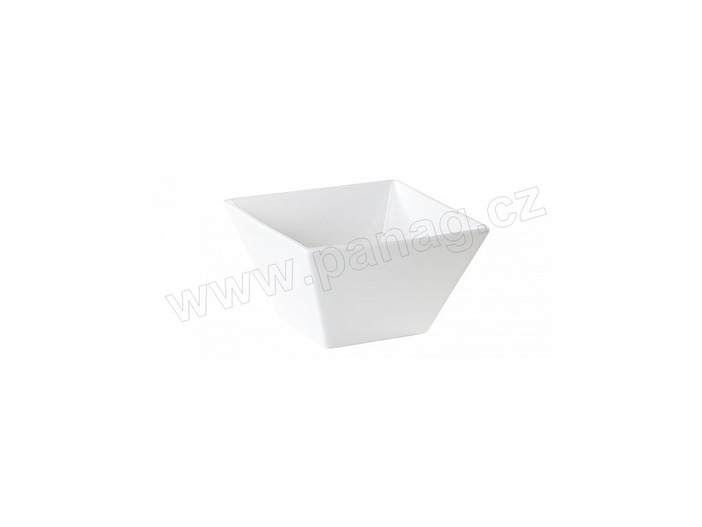 Porcelánová čtvercová miska 11 cm bílá - by inspire