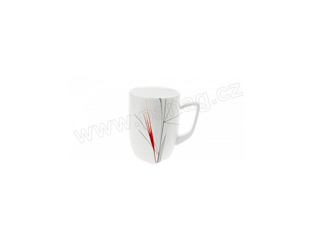 Porcelánový hrnek Quadro 280 ml IRIS - by inspire
