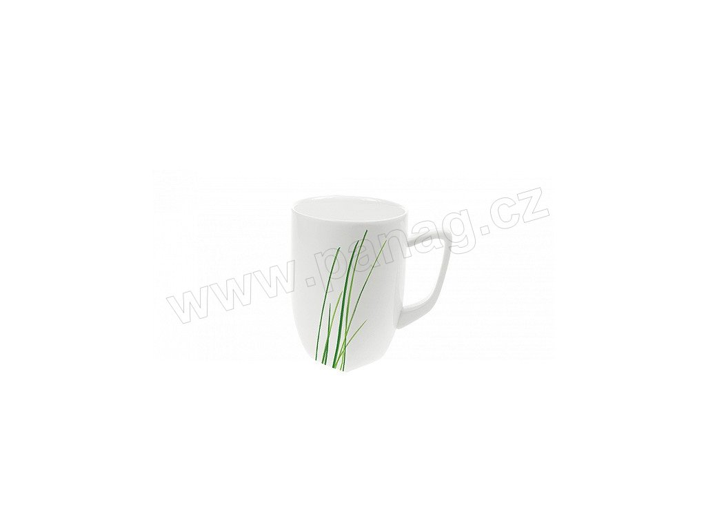Porcelánový hrnek Quadro 280 ml GRASS - by inspire